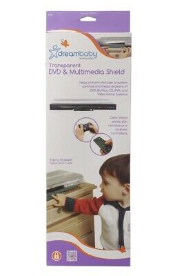 Dreambaby DVD & Multimedia Shield Guard Baby Safety Electrical Kid Toddler