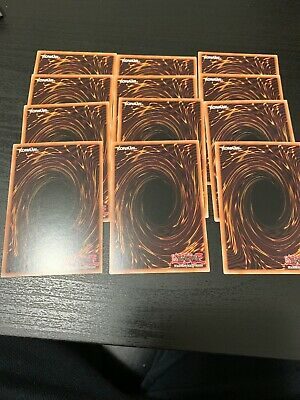 yugioh Rare Lot! 12 Rares For $1.25 GREAT VALUE!! MINT pack Fresh!!