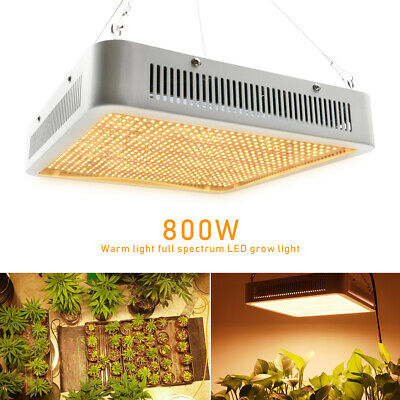 300W 800W Warm Full Spectrum E27 LED Grow Light Bulb Hydroponic Plant Panel Lamp