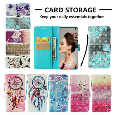 Flip Case Cover For Samsung Galaxy S10 S10 Plus S10 Lite Magnetic Wallet Stand