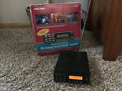 RADIO SHACK PRO-2038 50 Programmable Scanner With 800Mhz