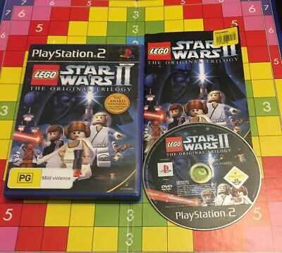 Lego Star Wars II: The Original Trilogy (PlayStation 2, PS2) - FREE POSTAGE!