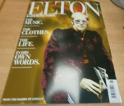 The Archive Collection magazine Aug 2019 Elton John A life in Pictures