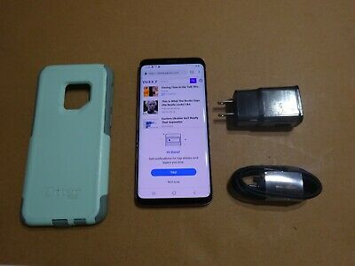 UNLOCKED AT&T CRICKET GSM TMOBILE METRO  Samsung Galaxy S9  64GB LILAC PURPLE