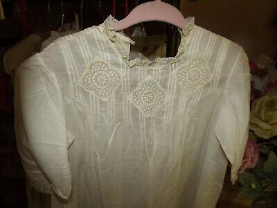 ANTIQUE EDWARDIAN VICTORIAN BABY CHILD CLOTHING Pintucks Embroidery Christening