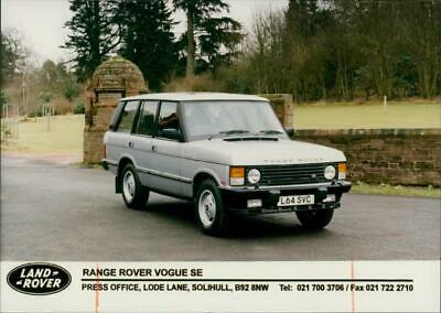 Range Rover Vogue SE. - Vintage photo