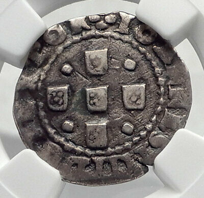 1640 PORTUGAL Joao JOHN IV the RESTORER from SPAIN Rule Silver Coin NGC i80408