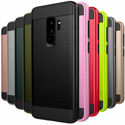 Shockproof TPU Rugged Protective Phone Case For Samsung Galaxy S9+ Plus J8 J6 J4