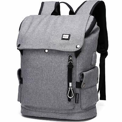 Laptop Backpack Men's Travel Bag Anti Theft Nylon Waterproof College School Bag