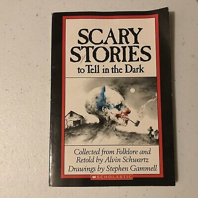 SCARY STORIES to Tell in the Dark (1989) Original / Paperback