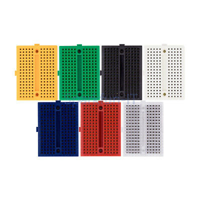 5 Color Mini Solderless Prototype Breadboard 170 Tie-points For Arduino NEW