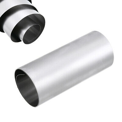 Silver Roll 304 Stainless Steel Fine Plate Sheet Foil 1M x 0.1MM x 100MM Tool