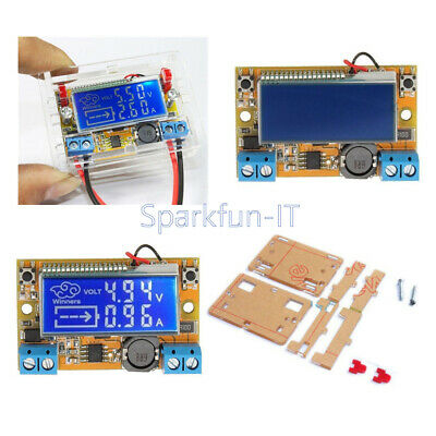 NEW DC-DC Adjustable Step-down Power Supply Module Voltage Current LCD Display