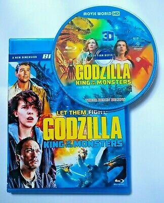 GODZILLA- KING of the MONSTERS 3D Bluray Region Free + Free Shipping