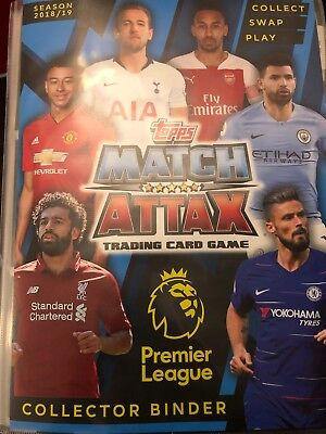 Match Attax Premier League 2018/19 - Choose any 10 Base Cards