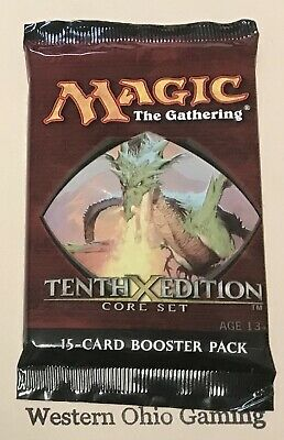 MTG Magic 10th Edition Booster Pack from SEALED Box NEW Core Set Tenth
