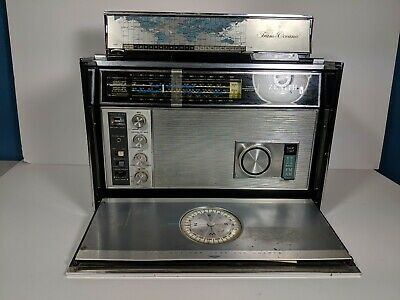 Zenith Royal 7000-1 Trans Oceanic AM/FM -11 Band Radio Working Vintage