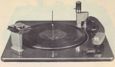 1948 RCA RP-177 RECORD PLAYER PHONOGRAPH SERVICE MANUAL photofact TURNTABLE