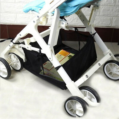 Baby Stroller Pram Bottom Net Basket Pushchair Buggy Shopping Basket Buggy SG