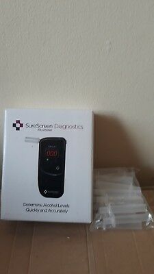 SureScreen Diagnostics Fuel Cell Alcometer/Breathalyser NEW