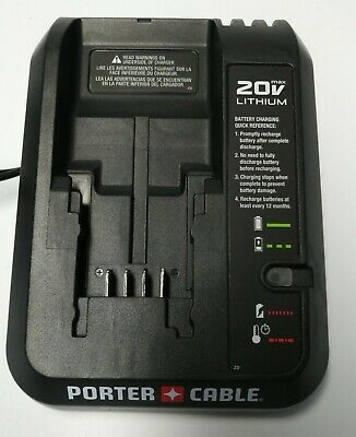 Genuine Porter-Cable 20V 20 Volt PCC691L Lithium-Ion Battery Charger  NEW