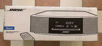 BOSE WAVE MUSIC SYSTEM IV w/CD PLAYER ESPRESSO BLACK, BRAND NEW, BEST OFFER!