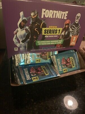 FORTNITE Trading Cards (266) PACKS & RETAIL CARD BOX! 2019 Series 1 Panini MINT!