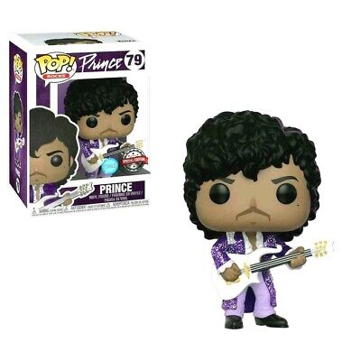 Prince Purple Rain - Pop! Music Rocks # 79 Vinyl Action Figure Mint in-box / MIB