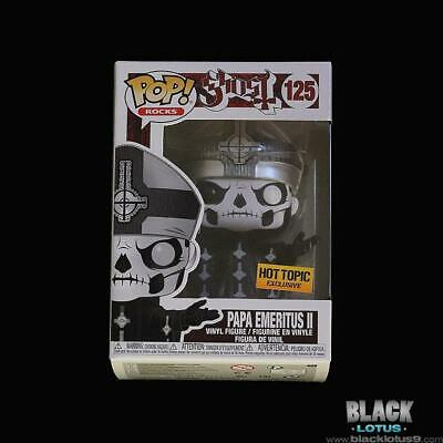 Funko Pop! Papa Emeritus II Ghost Rocks Metal Hot Topic Pope IN STOCK Pop 125