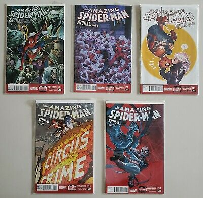 Amazing Spider-Man 16.1 17.1 18.1 19.1 20.1 Spiral Set Series Run Lot 1-4 VF/NM