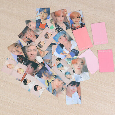 4pcs/set KPOP BTS MAP OF THE SOUL Photocard V JIN HD Photo Card Poster Lomo Card