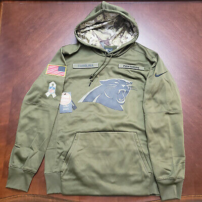 low priced 26fc2 e9f6f NEW NWT CAROLINA Panthers Nike Men's Salute To Service ...