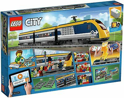 LEGO City Passenger RC Train Toy Construction Set 677 Pieces - 60197