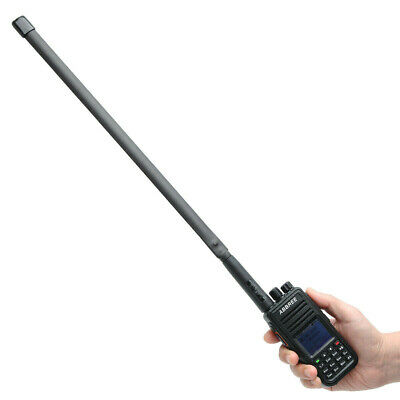 "18.89"" Tactical Antenna Dual Band VHF/UHF SMA-Male For Two Way Radio TYT YAESU"