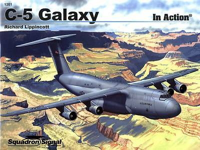 TOPP HEFT C-5 Galaxy 2ss1201// Squadron Signal Aircraft in Action 201