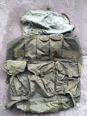 Large Alice Pack Rucksack lC1 OD Green No frame or strap NSW, CAG ,DEVGRU, SOF