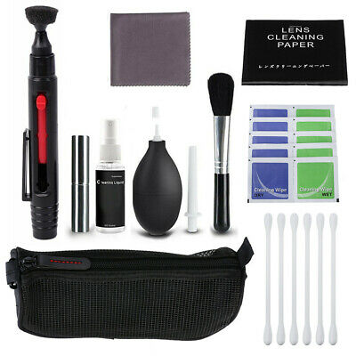 10 in1 Professional Camera DSLR Cleaning Lens Kit for Nikon Canon Sony Panasonic