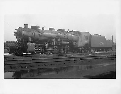 GG637 RP 1929/1980s? WABASH RAILROAD TRAIN ENGINE #2506 DECATUR IL