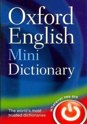 Oxford English Mini Dictionary by Oxford Dictionaries 9780199640966 | Brand New