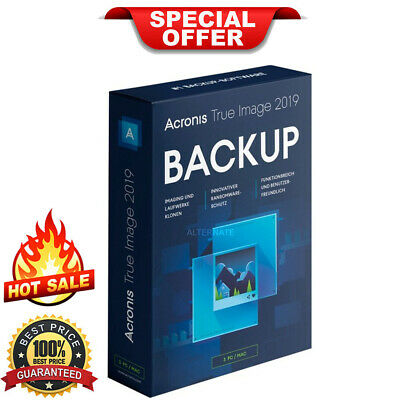 Acronis True Image 2019 | Official Download | Lifetime License (INSTANT DELIVERY