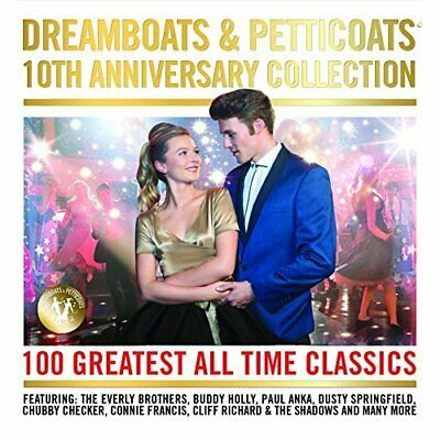 Various Artists-Dreamboats & Petticoats - 10th Anniversary Collection CD NEW