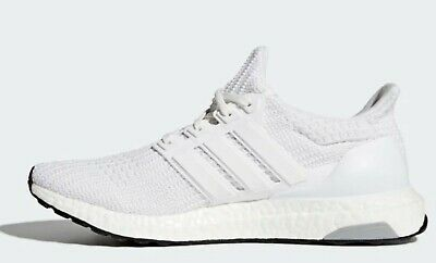 buy online b34ae ca263 NEW ADIDAS ULTRABOOST White Shoes BB6168 Men's US Size 10