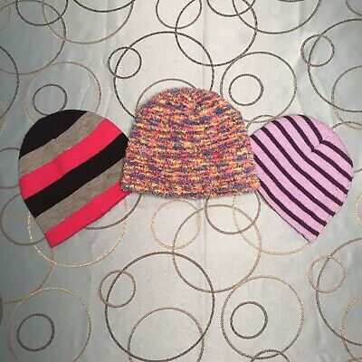 No Brand Winter Hats For Girls Knitted One Size, All Set