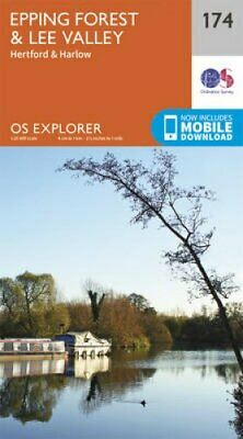 Epping Forest & Lee Valley by Ordnance Survey 9780319243671 | Brand New
