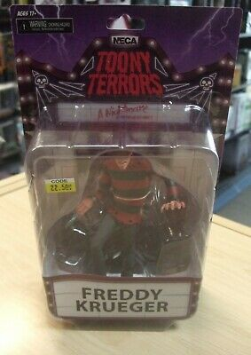 """A Nightmare On Elm Street FREDDY 6"""" Scale Action Figure Toony Terrors by NECA"""