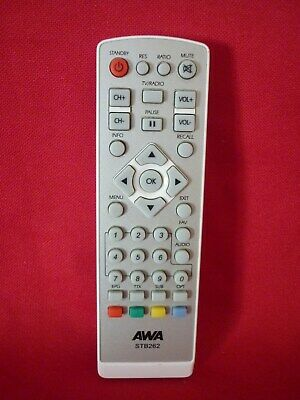 Awa Stb262 Set Top Box Remote Control Works Well Replacement Spare