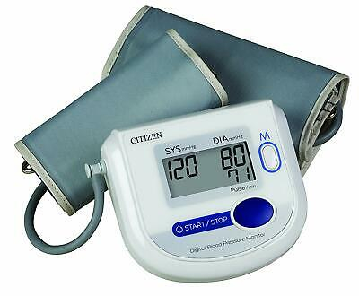 Citizen Ch-4532 Arm Digital Blood Pressure Monitor with Adult and Large Adult C