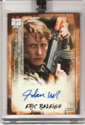 Jordan As Eric Raleigh 2018 Topps The Walking Dead Auto Collection A-Jwa #14/50