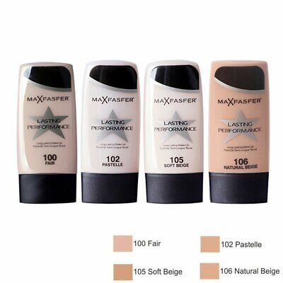 Skin Lasting Performance Touch-Proof Make UP Foundation Face 35ml GH