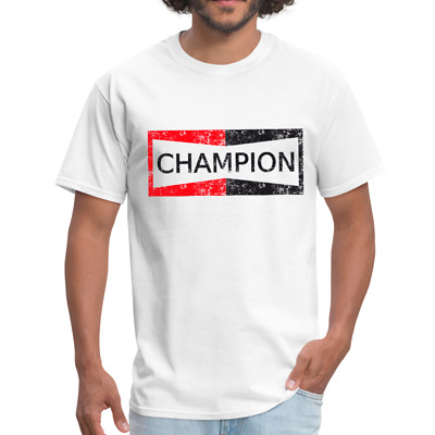 NEW ONCE UPON a Time in Hollywood Champion Spark Plugs Brad Pitt T-shirt